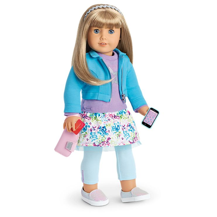 Boneca American Girl Truly Me Doll #51 + Truly Me Accessories
