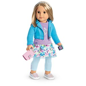 Boneca American Girl Truly Me Doll #53 + Truly Me Accessories