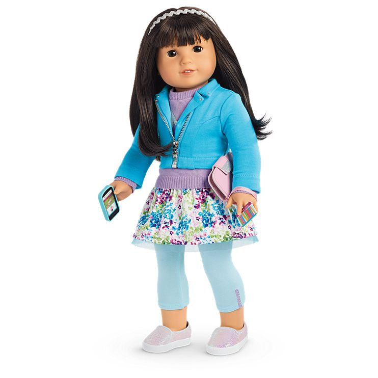 Boneca American Girl Truly Me Doll #54 + Truly Me Accessories