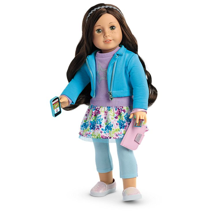 Boneca American Girl Truly Me Doll #55 + Truly Me Accessories