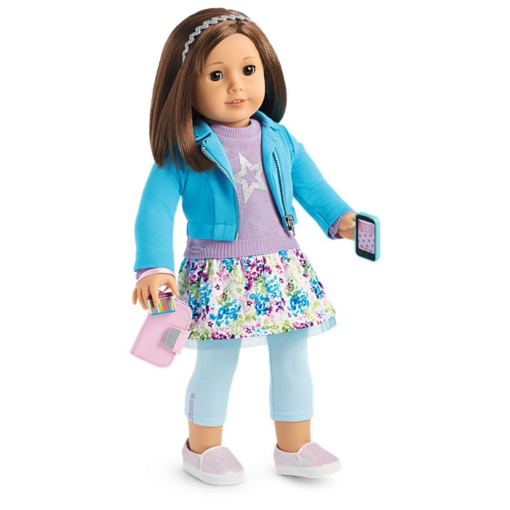 Boneca American Girl Truly Me Doll #57 + Truly Me Accessories