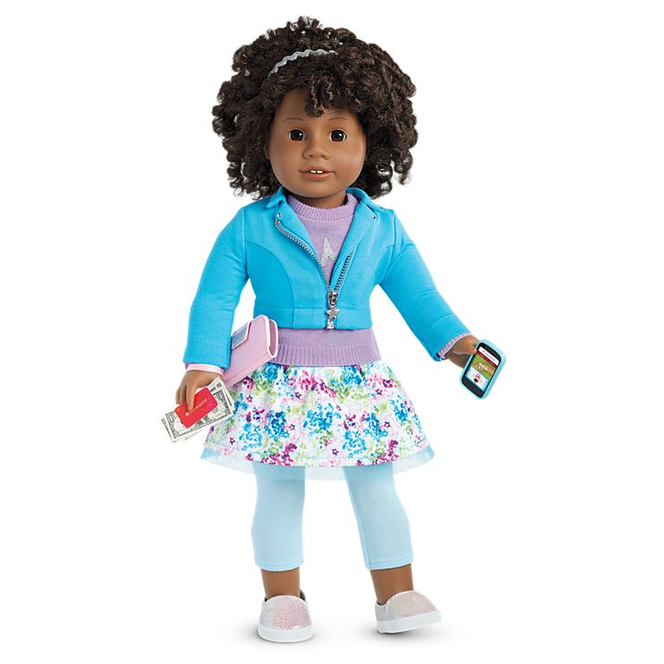 Boneca American Girl Truly Me Doll #58 + Truly Me Accessories