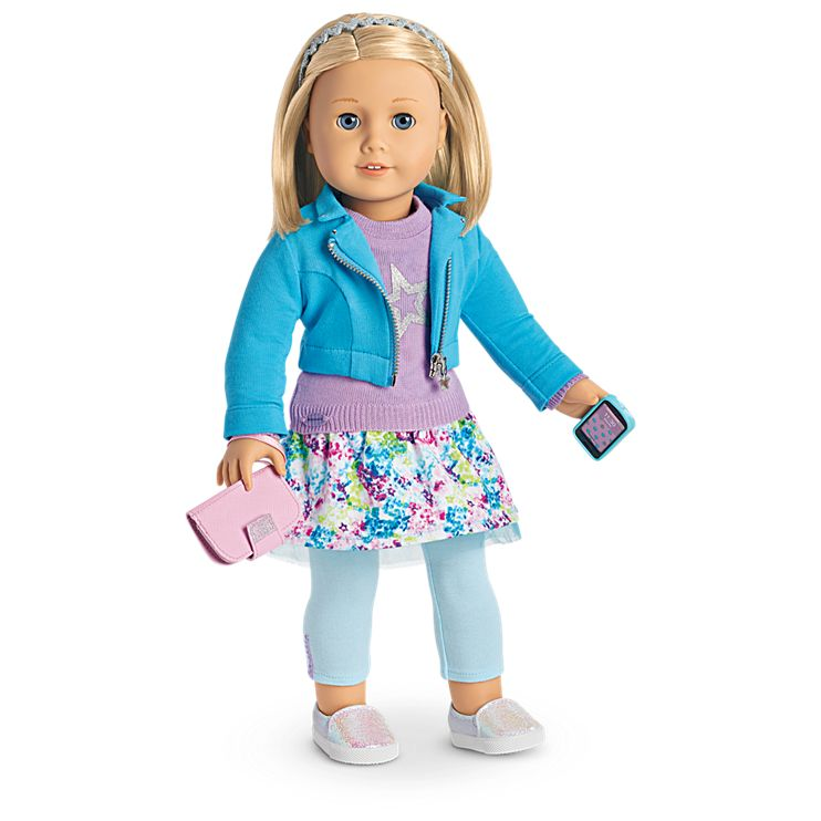 Boneca American Girl Truly Me Doll #63 + Truly Me Accessories