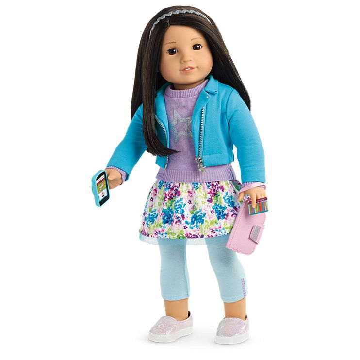 Boneca American Girl Truly Me Doll #64 + Truly Me Accessories