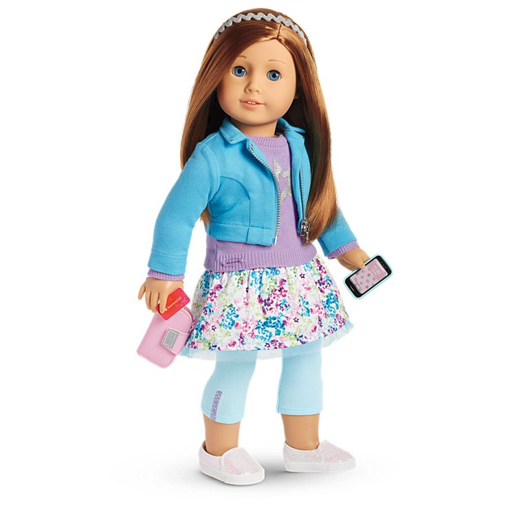 Boneca American Girl Truly Me Doll #65 + Truly Me Accessories