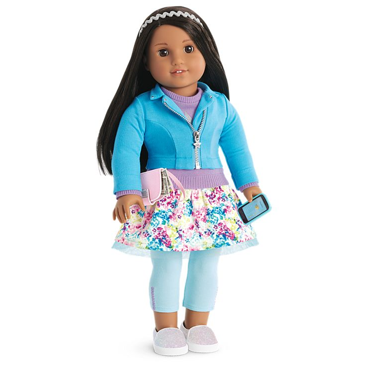 Boneca American Girl Truly Me Doll #66 + Truly Me Accessories