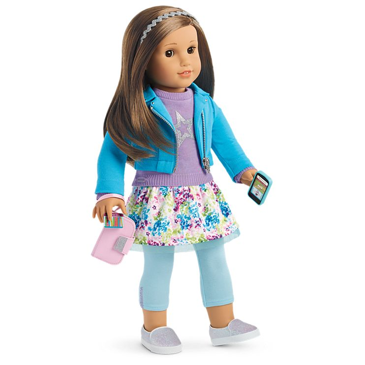 Boneca American Girl Truly Me Doll #68 + Truly Me Accessories