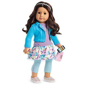 Boneca American Girl Truly Me Doll #69 + Truly Me Accessories