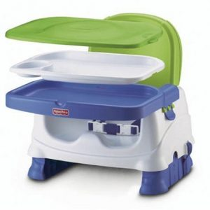 CADEIRA FISHER PRICE DELUXE BLUE/GREEN/GREY