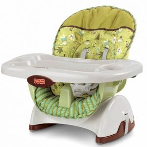 FISHER PRICE CADEIRA SPACE SAVER SCATTER BUG
