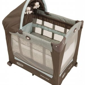 BER?O GRACO TRAVEL LITE CRIB WITH STAGES