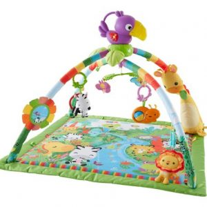 Tapete de Atividades para Beb?s Fisher-Price Rainforest Melodies and Lights Deluxe