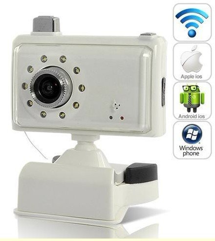 VIDEO BABY MONITOR WIRELESS COM INFRARED NIGHT VISION - Support Mac, Ipad, Iphone, Android