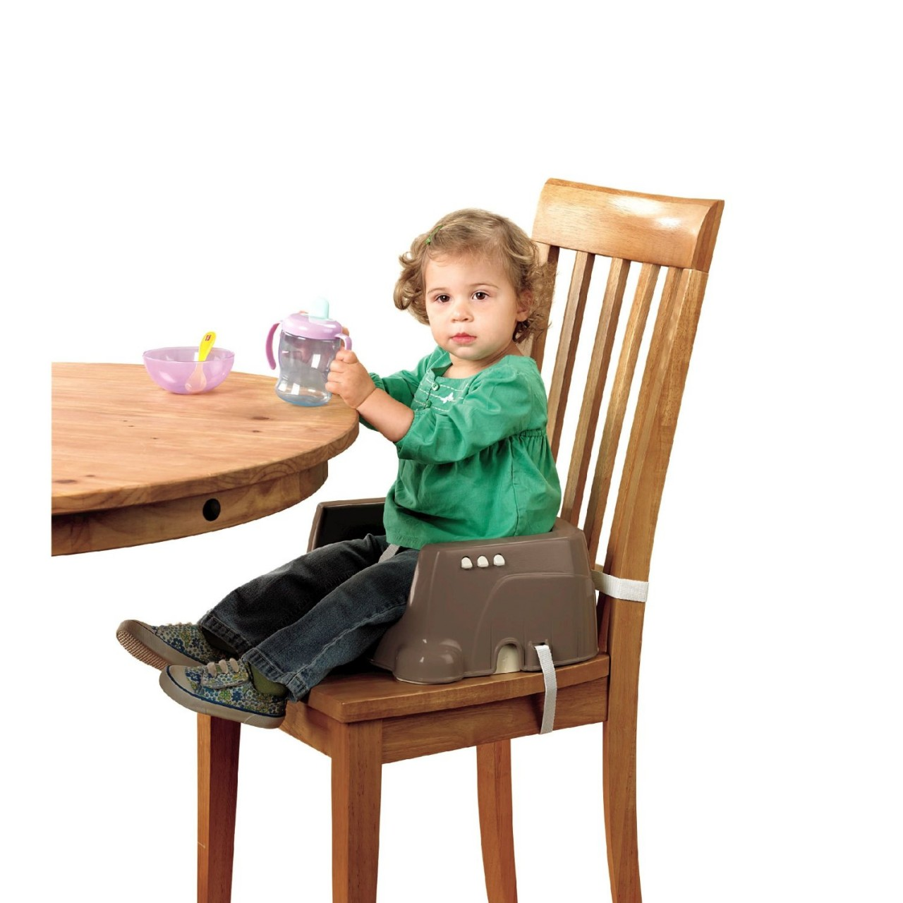 CADEIRA FISHER PRICE DELUXE BROWN/TAN