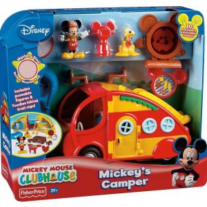 FISHER PRICE CAMPING MICKEY MOUSE - MICKEY MOUSE CLUBHOUSE