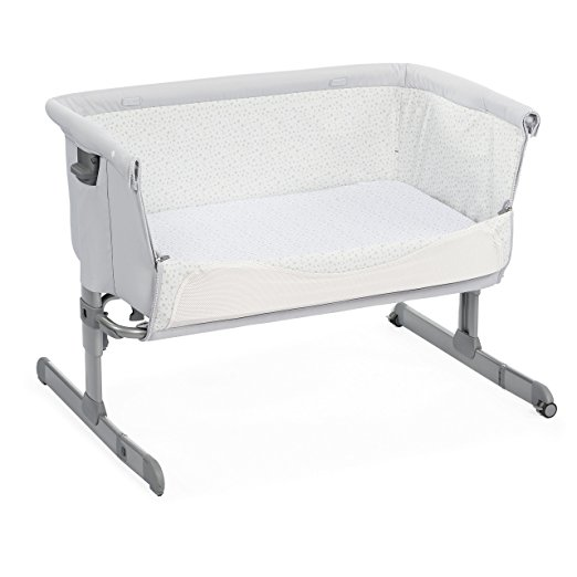 Ber?o Chicco 2018 Next2me Chick to Chick Silver Grey
