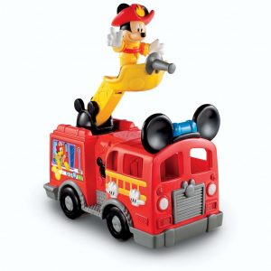 FISHER PRICE CAMINHAO DE BOMBEIRO MICKEY MOUSE - MICKEY MOUSE CLUBHOUSE