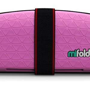 Assento Elevat?rio Para Crian?as Port?til Mifold Grab-and-Go Car Booster Seat Cor Pink