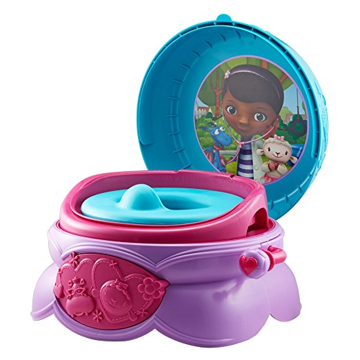 Penico Port?til Para Crian?as The First Years Disney Junior Doc Mcstuffins 3-In-1 Potty System