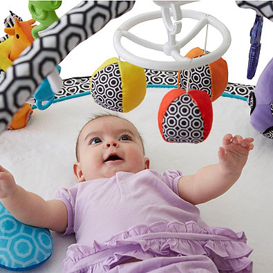 Tapete de Atividades Jonathan Adler Crafted by Fisher-Price Sensory Gym