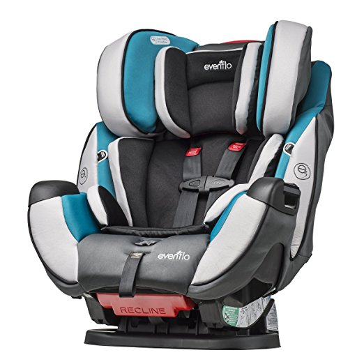 Evenflo Symphony DLX All-In-One Convertible Car Seat Cor Modesto