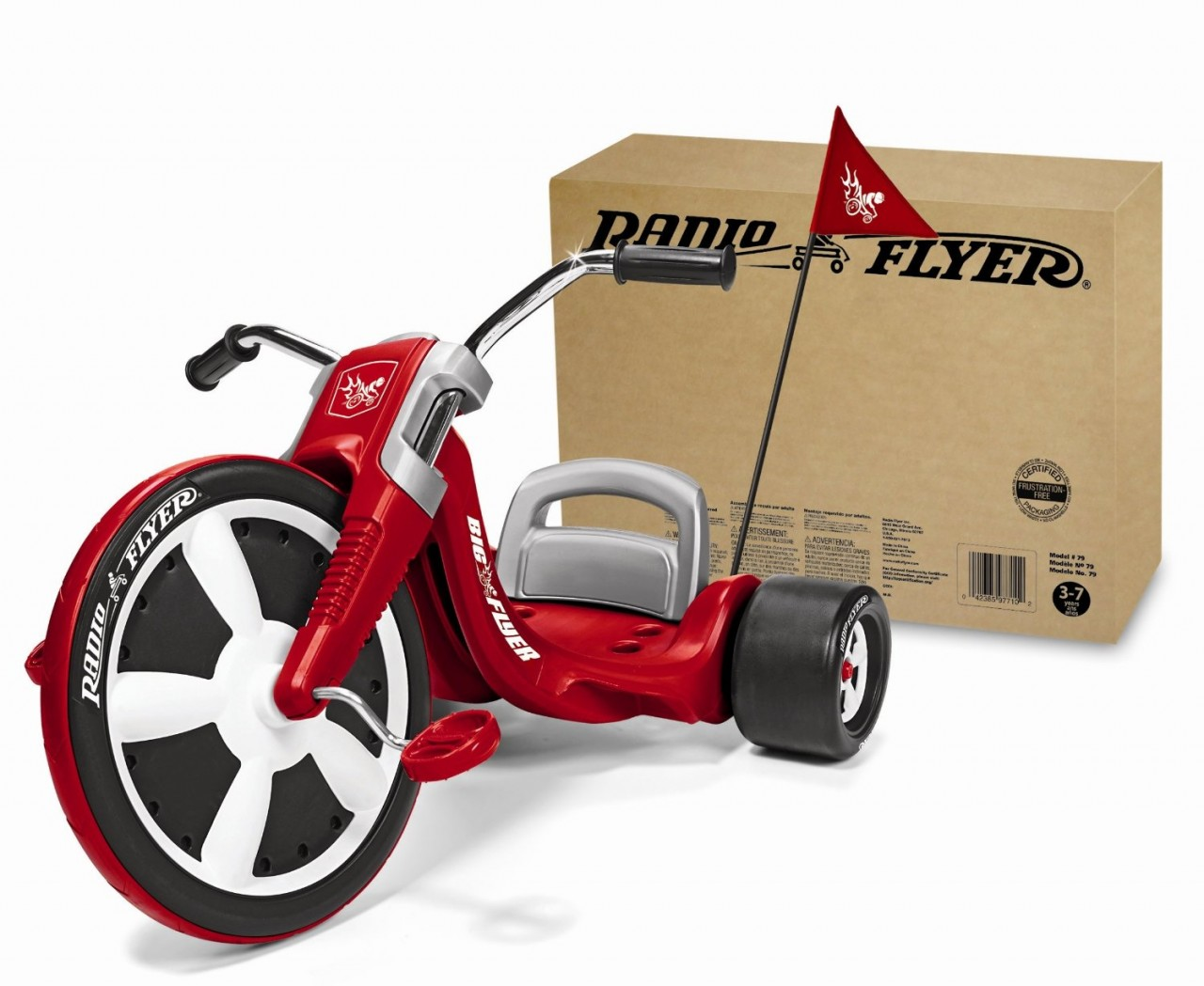 TRICICLO RADIO FLYER RED