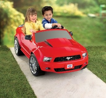 MINI VEICULO FORD MUSTANG ROSA
