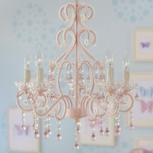 CANDELABRO PINK LYDIA - CHANDELIER