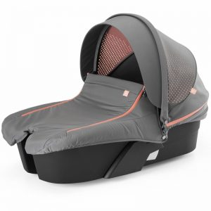 Mois?s Stokke Xplory Athleisure Carry Cot Complete Kit Cor Coral