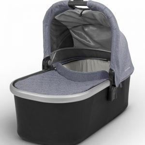 Mois?s UPPAbaby 2017 Bassinet - Gregory (Blue Marl/Silver)