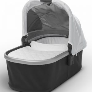 Mois?s UPPAbaby 2017 Bassinet - Loic (White/Silver)