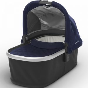 Mois?s UPPAbaby 2017 Bassinet - Taylor (Indigo/Silver)